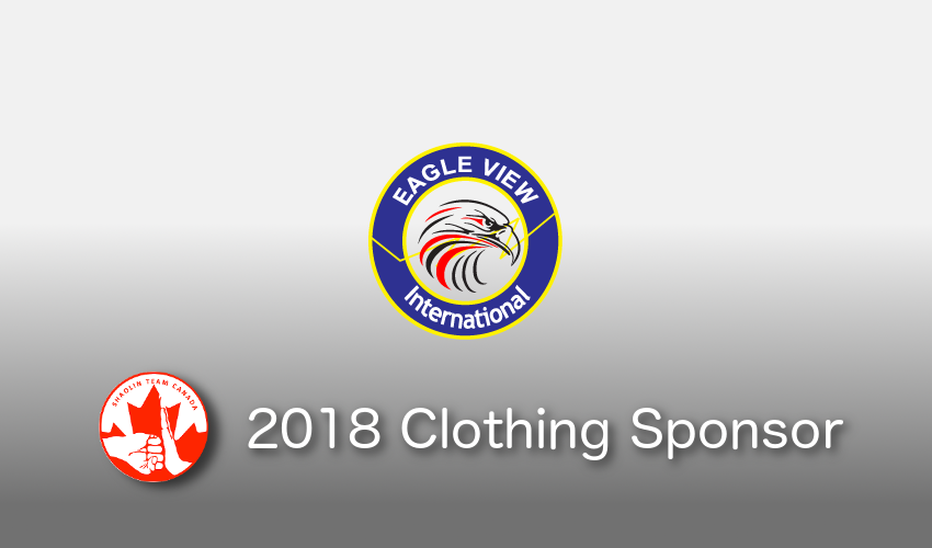Shaolin Team Canada 2018 Clothing Sponsor - Eagle View International