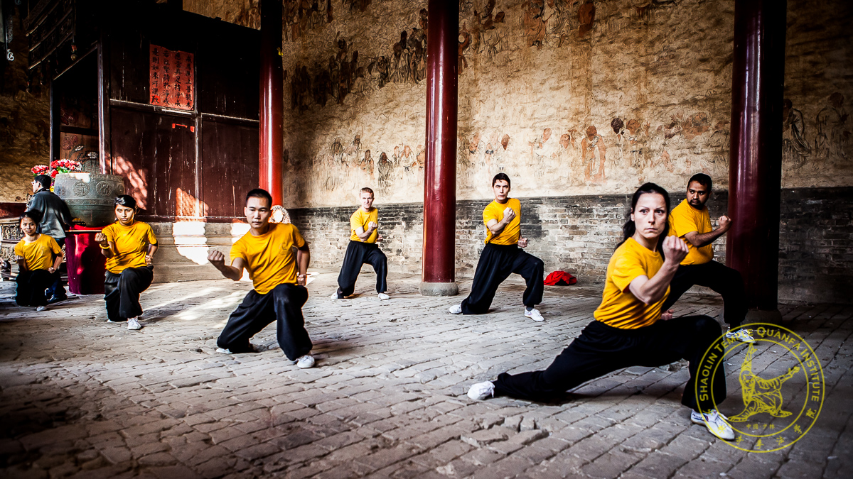 Canadian Competitors in the Shaolin Temple Sacred Hall