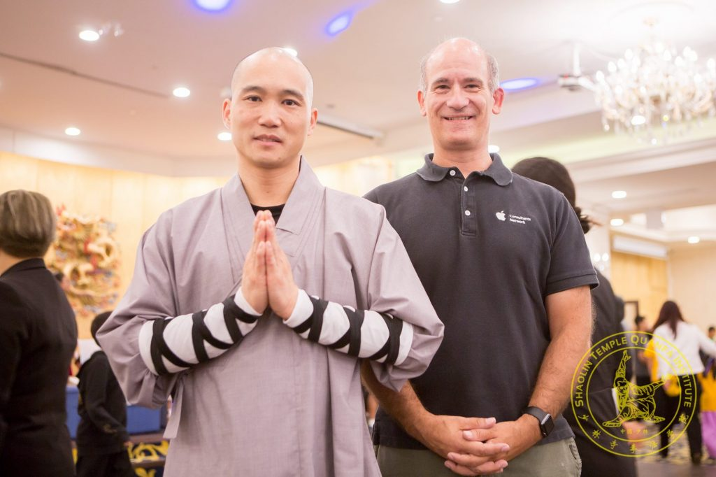 Shaolin Team Canada Head Coach, Dao Shi and Corporate Sponsorship Lead, David Ballantyne