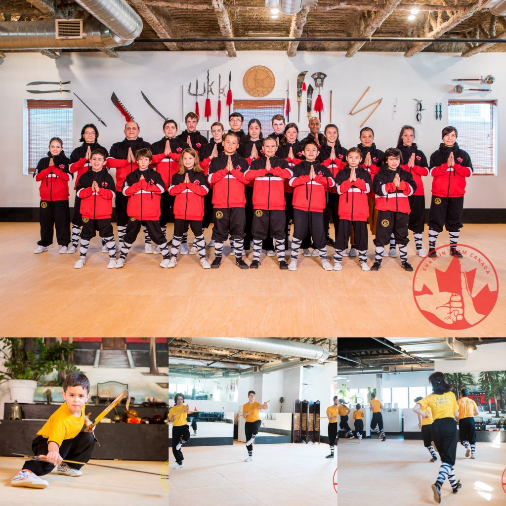Shaolin Team Canada Collage