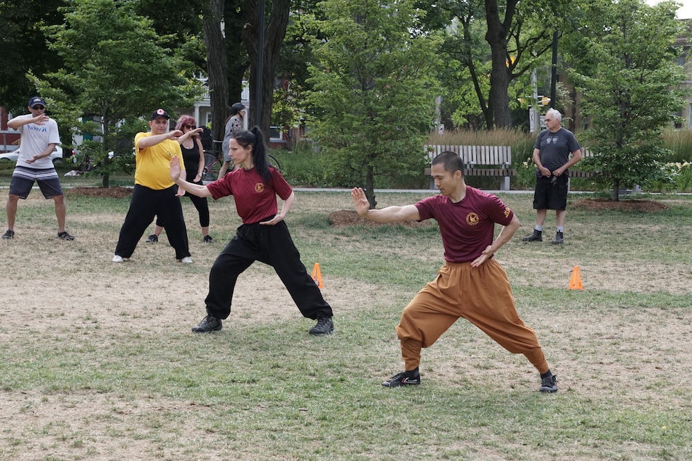 Shaolin Team Canada Outdoor Training Xiao Hong Quan