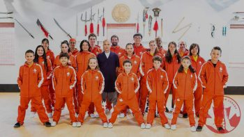 Shaolin Team in Tracksuits